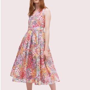 Kate Spade NWT Floral Burnout Dress
